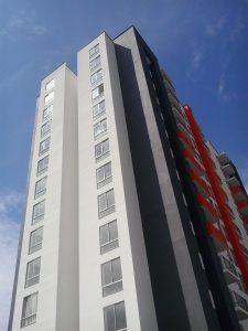 Acabados Fachada Lateral Torre 14 Pisos
