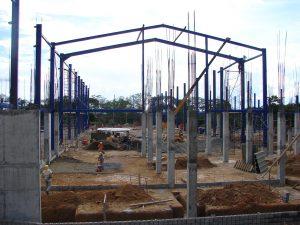 Cimentación y Estructura Metálica