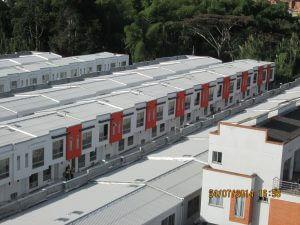 Cubierta de Casas